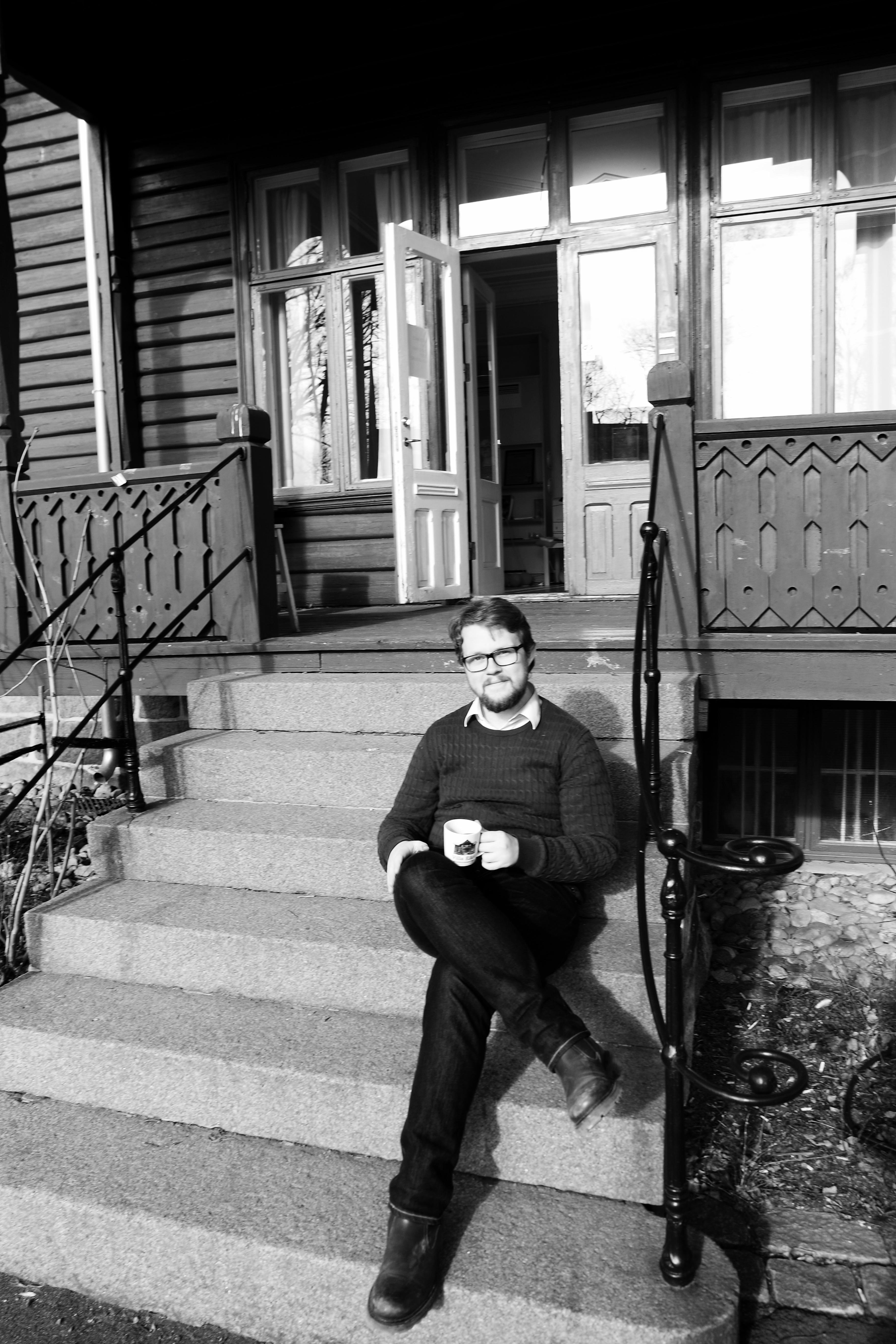 En kaffe med: Simen Eriksen