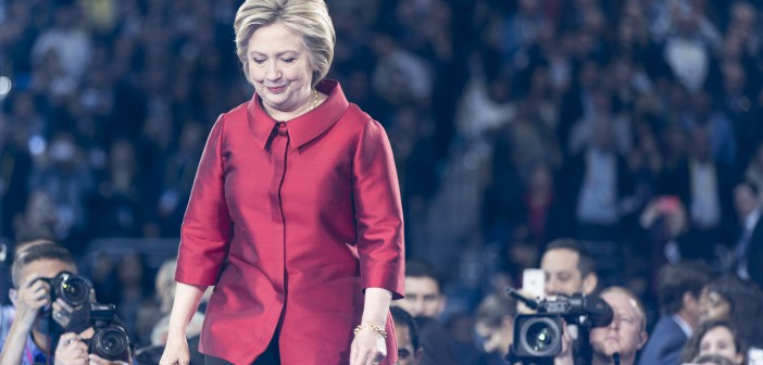 Clinton under valgkampen våren 2016. Foto: Lorie Shaull/WikimediaCommons