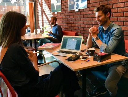 En kaffe med Bjørnar Moxnes