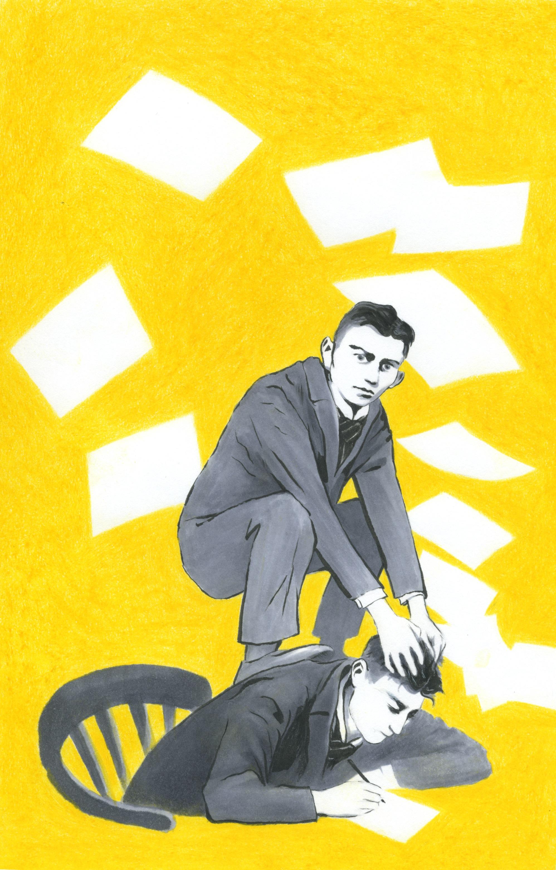 Med Kafka i hodet og seg selv på ryggen