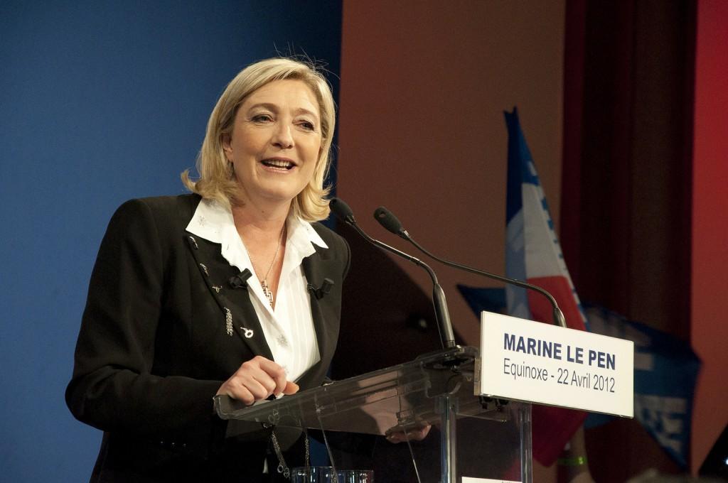 Partileder Nasjonal Front, Marine Le Pen. Foto: Remi Noyon/flickr creative commons