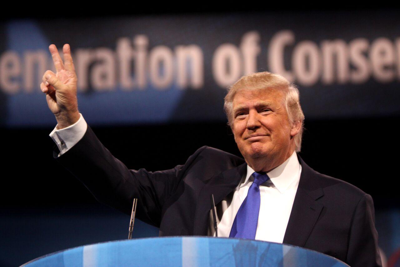 En høyrepopulist som presidentkandidat i USA.
