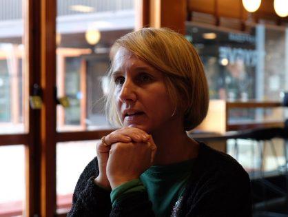 En kaffe med Cathrine Holst