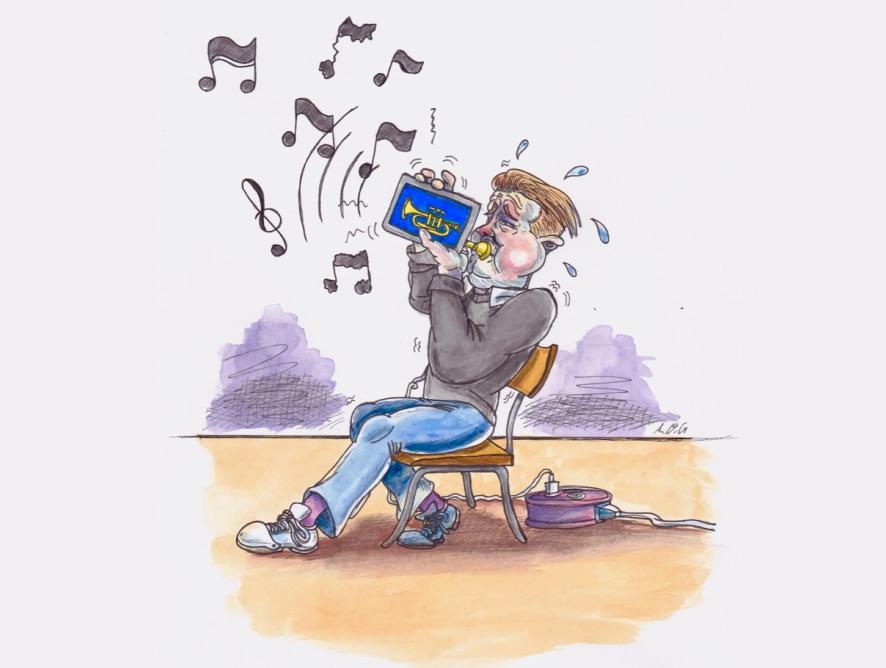 iPad i musikkundervising: Samspel mellom menneske og maskin