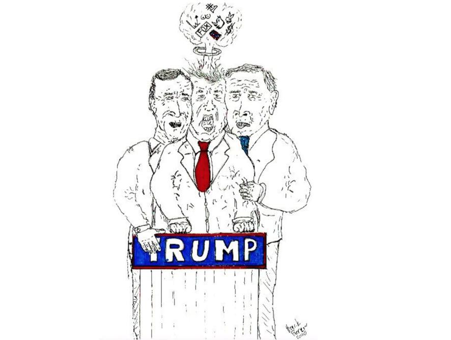 Trump: Et karikert tilfelle av en helt normal amerikansk president