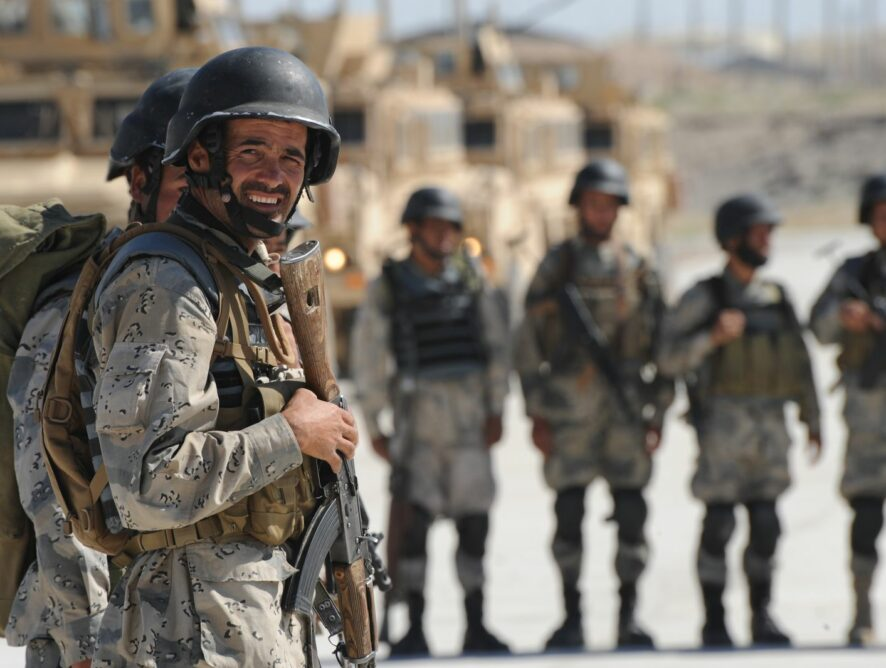 Afghans might soon live in a country at peace